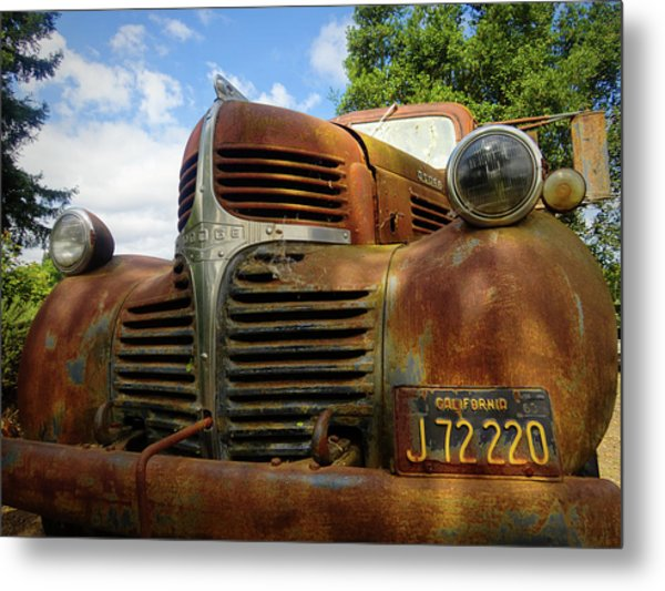 Metal Print featuring the photograph Grandpa by Skip Hunt