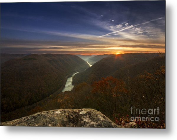 Grandview Sunrise Metal Print