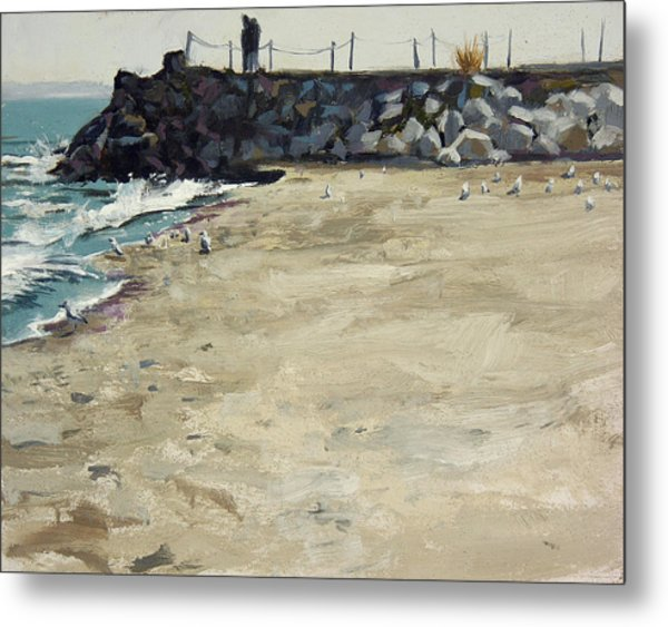 Grant Park Beach No. 5 Metal Print by Anthony Sell