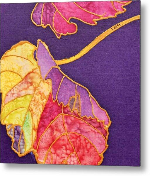 Grape Leaves Metal Print