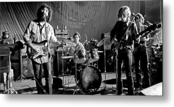 Grateful Dead In Concert - San Francisco 1969 Metal Print