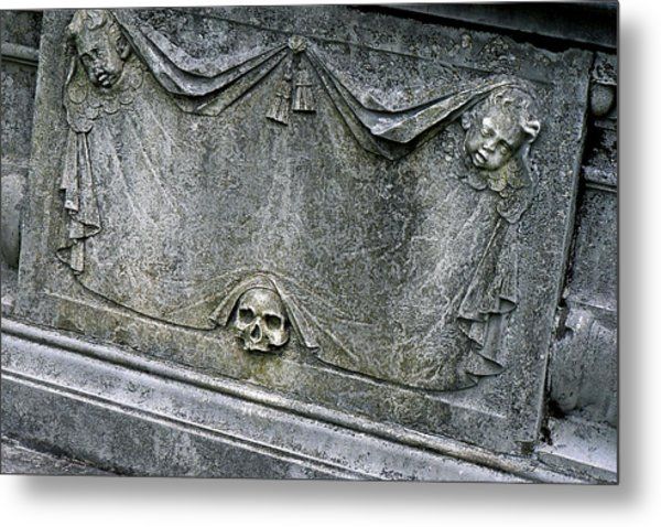 Grave Business Metal Print by Robert Joseph