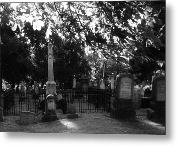 Graveyard 2 Metal Print