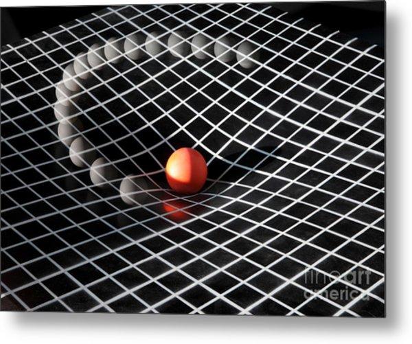 Gravity Simulation Metal Print