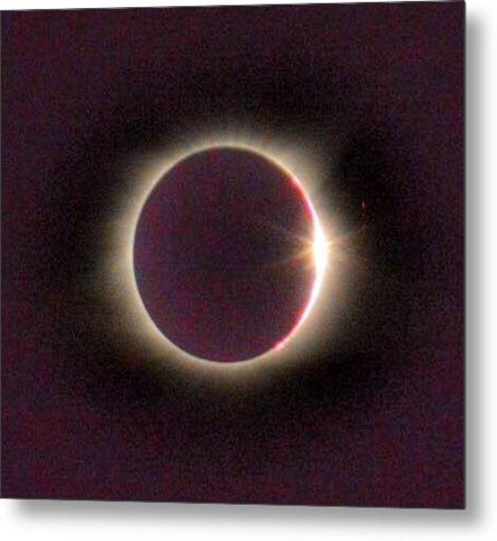 Great American Solar Eclipse Metal Print