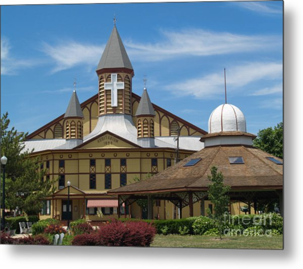 Great Auditorium Of Ocean Grove New Jersey Metal Print