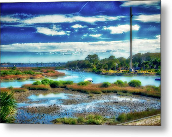 Great Cross Metal Print
