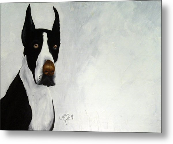 Great Dane Metal Print by Dick Larsen
