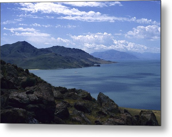 Great Salt Lake Metal Print