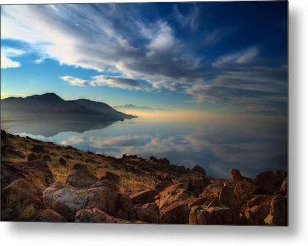 Great Salt Lake Utah Metal Print