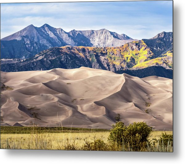 Great Sand Dunes Of Southern Colorado Metal Print