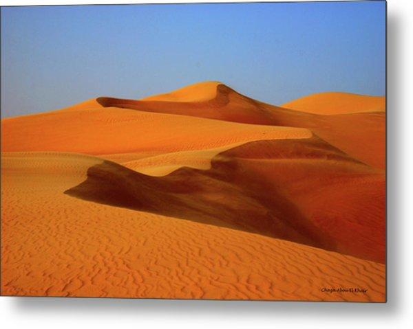 Great Sand Sea Metal Print by Chaza Abou El Khair
