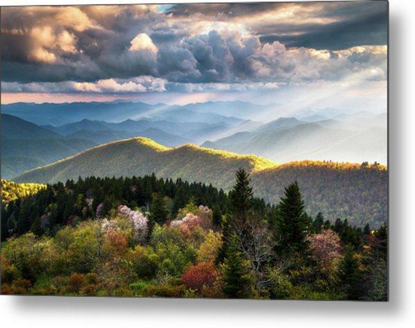 Great Smoky Mountains National Park - The Ridge Metal Print