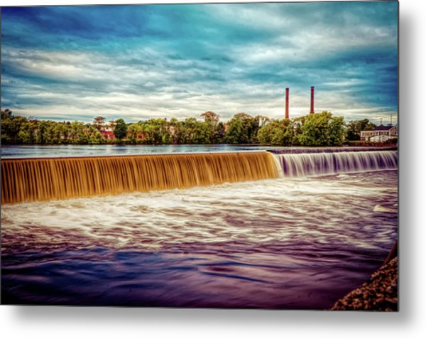 Great Stone Dam Metal Print
