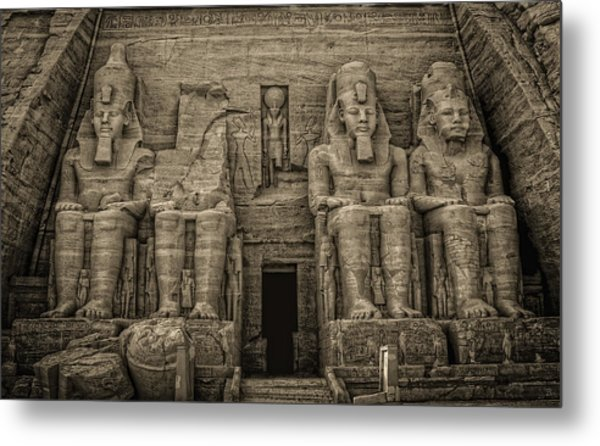 Great Temple Abu Simbel  Metal Print