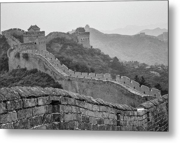 Great Wall 7, Jinshanling, 2016 Metal Print