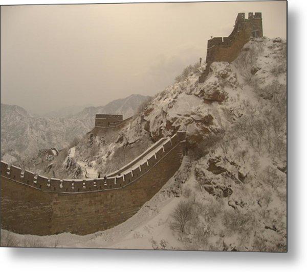 Great Wall Metal Print by James Lukashenko