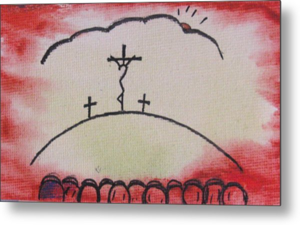Greatest Love Metal Print by Trilby Cole