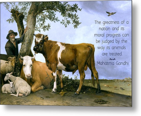 Greatness Of A Nation Metal Print