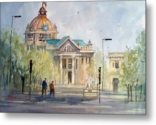 Green Bay Courthouse Metal Print