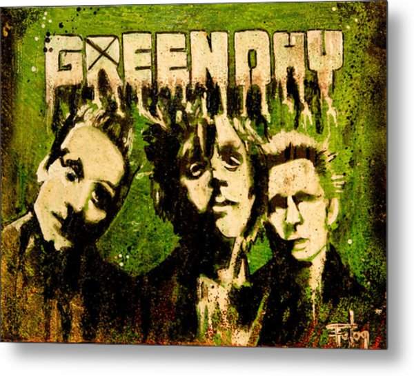 Green Day Metal Print by Christopher Chouinard