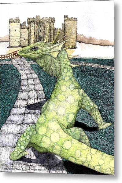 Green Dragon Metal Print by Preston Shupp