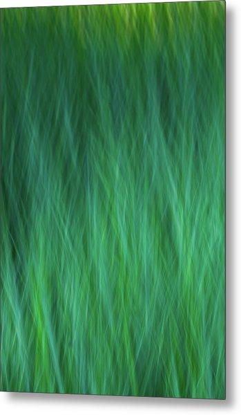 Green Fire 3 Metal Print