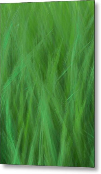 Green Fire 8 Metal Print