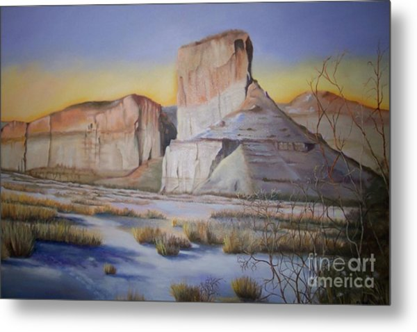 Green River Wyoming Metal Print