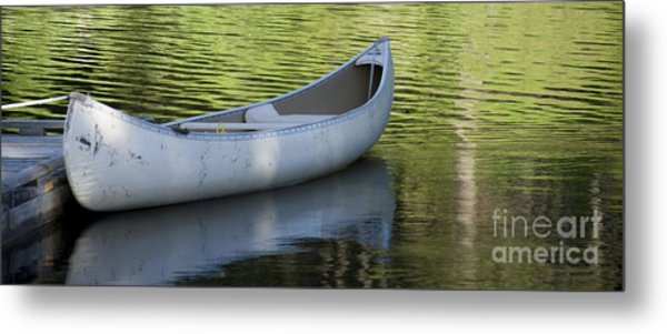 Green Water Metal Print