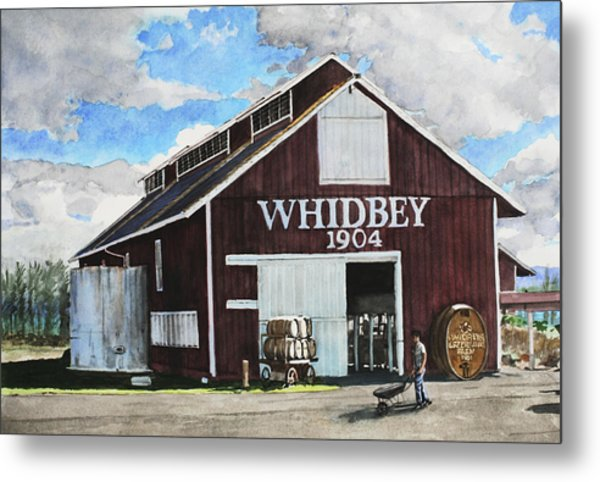 Greenbank Farm Metal Print by Perry Woodfin