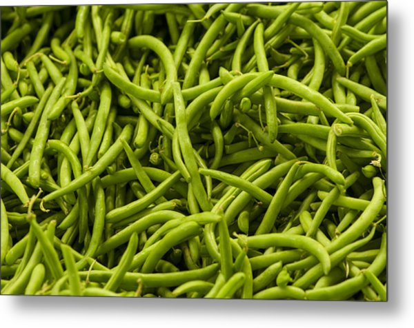 Greenbeans Metal Print