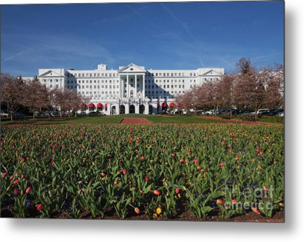 Greenbrier Resort Metal Print