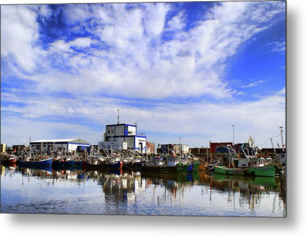 Greencastle Harbour Metal Print