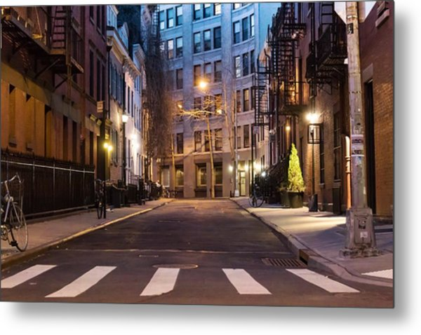 Metal Print featuring the photograph Greenwich Village by Alison Frank