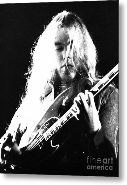 Gregg Allman 1974 Metal Print by Chris Walter
