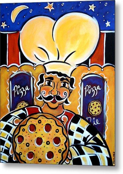 Gregorios Pizzeria Metal Print