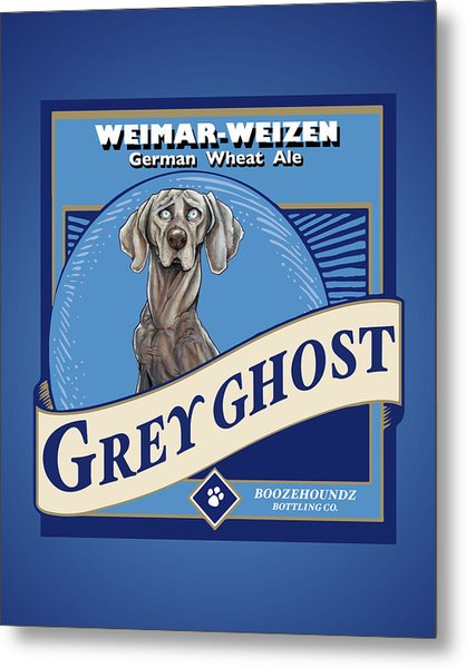Grey Ghost Weimar-weizen Wheat Ale Metal Print