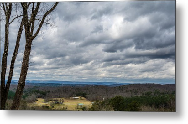 Grey Skies Metal Print