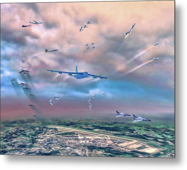 Griffiss Afb Rome Ny Metal Print