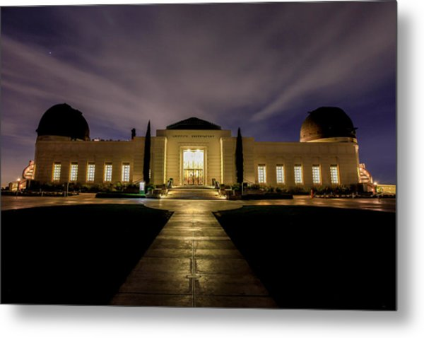 Griffith Observatory Metal Print by Robert Aycock