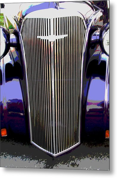 Grill Metal Print by Audrey Venute