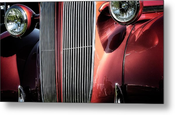Willys Grill Metal Print
