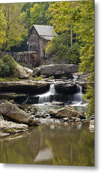Grist Mill No. 1 Metal Print by Harry H Hicklin