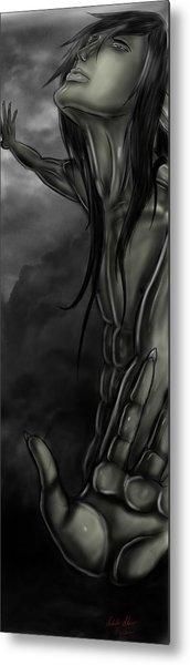Grit Heavenwards Metal Print by Nicholas Sharpe