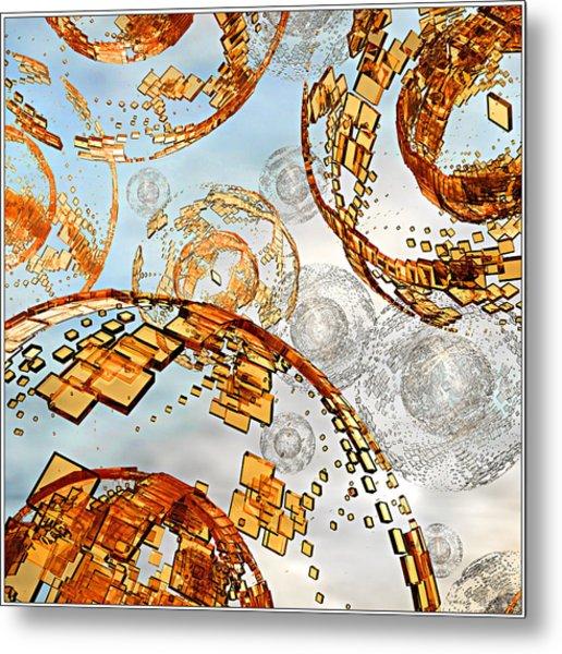 Groboto Experiment 7 Metal Print
