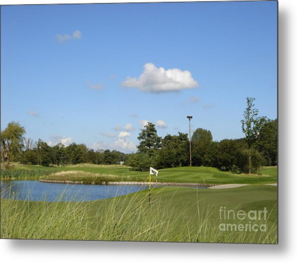 Groendael Golf The Netherlands Metal Print