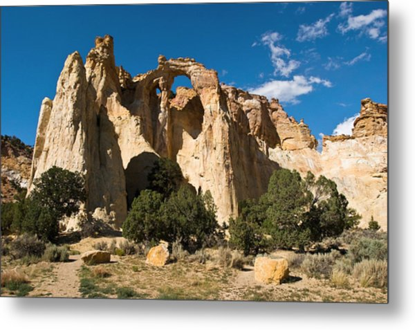 Grosvenor Arch Metal Print by James Marvin Phelps