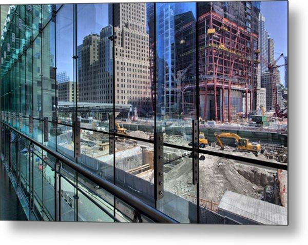 Ground Zero From World Financial Center Metal Print by Robert Ullmann