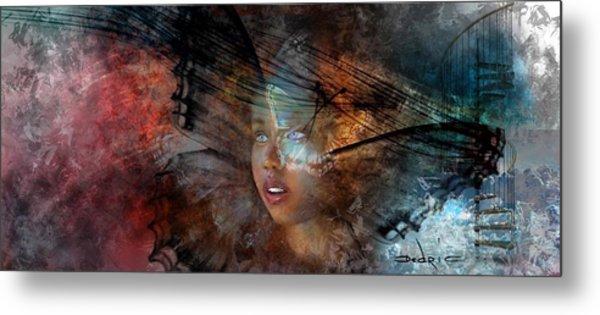 Metal Print featuring the digital art Growth  by Dedric Artlove W